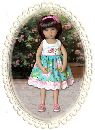 Little Hoot Dress - 13""