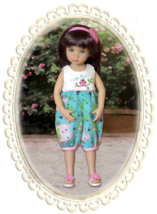 Little Hoot Romper - 13""